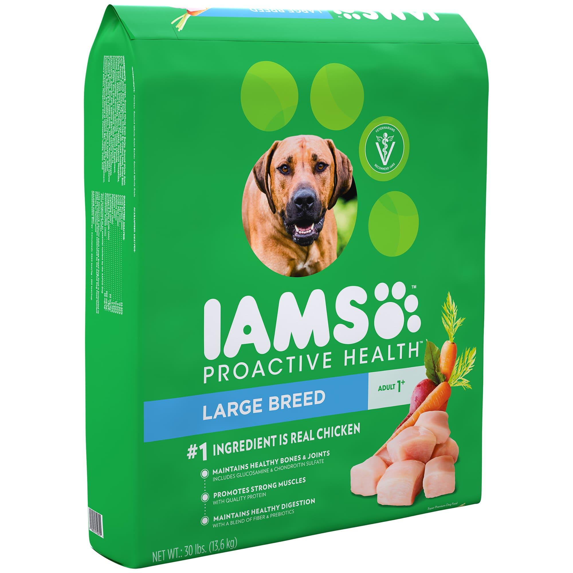 IAMS | IAMS PROACTIVE HEALTH Adult Large Breed Dry Dog ...